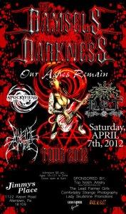 Damsels )f Darkness flyer