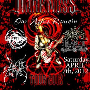 Damsels )f Darkness flyer